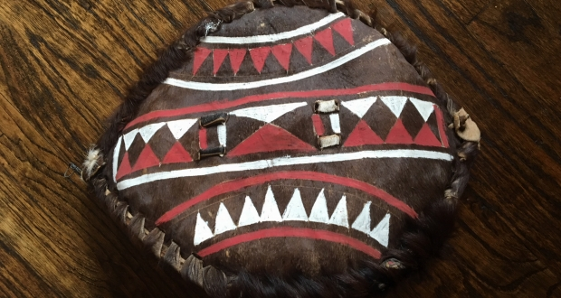 Kenyan Shield by Sarah Kay Ndjerareou
